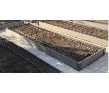 Садовая грядка HOLZDORF 3000х1000х160 мм