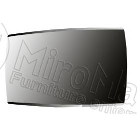 Зеркало Белла черный глянец + вишня бюзум Миро-Марк