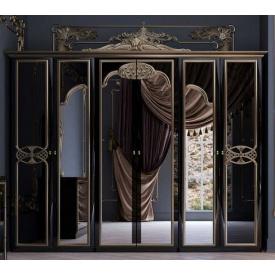 Шафа Єва 6Д з короною чорний глянець Миро-Марк