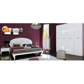 Спальня Імперія 4Д білий глянець Миро-Марк