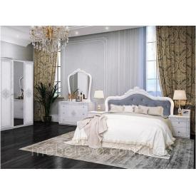 Спальня Луїза 3Д білий глянець Миро-Марк