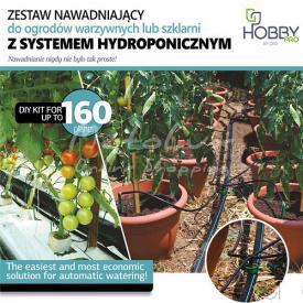 Комплект системи зрошення AGRODRIP методом гідропоніки до 160 рослин