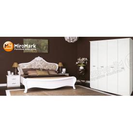 Спальня Прованс 4Д білий глянець Миро-Марк