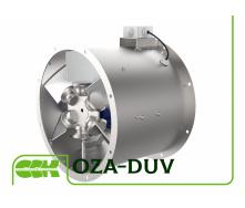 Вентилятор осьовий димовидалення OZA-DUV