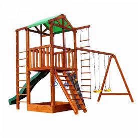 Детский игровой комплекс Sportbaby Babyland-6 деревянный