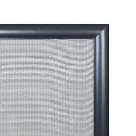 Москитная сетка элит алюминиевый профиль Антрацит Графит