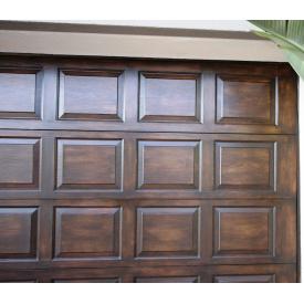 Гаражные ворота 3,5х2,5 м Alutech Trend филенчатые