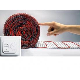 Теплый пол электрический кабельный тонкий 4 мм