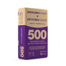 Цемент М500 Д20 Кривой Рог Цемент мешок 25 кг
