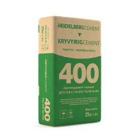 Цемент М400 Кривий Ріг Цемент мішок 25 кг