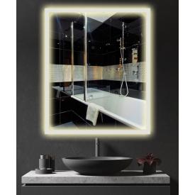 Зеркало с подсветкой LED в ванную ML - 12 50х60