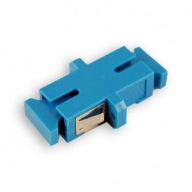 Оптический адаптер SC-SC Simplex SM одномодовая синий