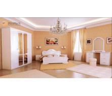 Спальня Футура 4Д білий глянець Миро-Марк