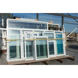 Окно металлопластиковое WDS Ultra 7 1100x1250 см с 2 камерным стеклопакетом