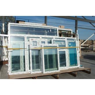 Вікно металопластикове WDS Ultra 7 1100x1250 см з 2 камерним склопакетом
