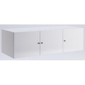 Антресоль Фемели 3Д белый глянец Миро-Марк
