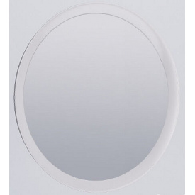 Зеркало Фемели круглое белый глянец Миро-Марк