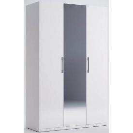 Шафа Фемелі 3Д білий глянець з дзеркалом Миро-Марк