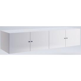 Антресоль Фемели 4Д белый глянец Миро-Марк