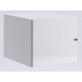 Антресоль Фемели 1Д белый глянец Миро-Марк