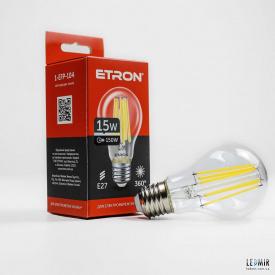 Светодиодная лампа ETRON 1-EFP-104 A60 15W-E27-4200K