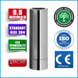 Димохід сталь AISI 321 THERMO 160x220 сталь AISI 321 1мм нерж / нікель