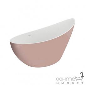 Овальная ванна Polimat Zoe 180х80 00410 розовый