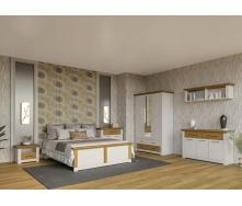 Спальня Валеріо 3Д сосна водевіль + дуб кам`яний Світ Меблів