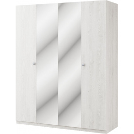 Шкаф Вивиан 4Д аляска + монолит Мир мебели