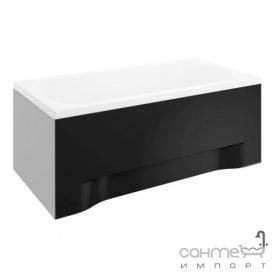 Передня панель для ванни Polimat Classic 150x75 00984 чорна