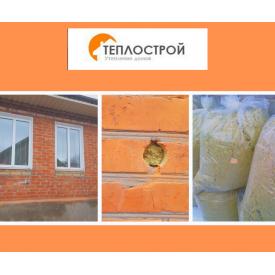 Утеплення стін будинку мінеральною ватою