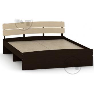 Ліжко Модерн 160 венге комбі Компаніт