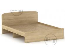Ліжко Класика 140 дуб Сонома Компаніт