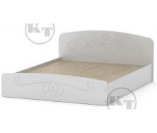 Ліжко Ніжність -140 МДФ німфея альба Компаніт
