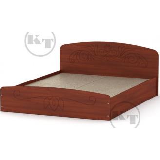 Ліжко Ніжність -140 МДФ яблуня Компаніт