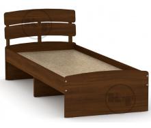 Ліжко Модерн 80 горіх Компаніт