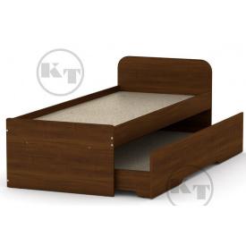 Кровать 80+70 орех Компанит