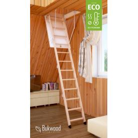 Складная лестница на чердак Bukwood ECO Mini 90х60 см