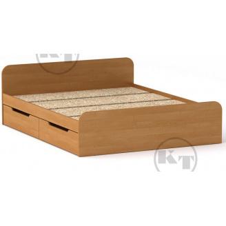 Ліжко з ящиками Віола 160х200 вільха Компаніт