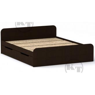 Ліжко з ящиками Віола 160х200 венге Компаніт