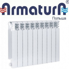 Алюмінієвий радіатор Armatura G500F (1 секция)