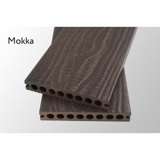 Террасная доска Woodlux Ultra Vintage Mokka 23мм