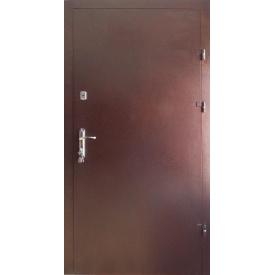 Входные двери Редфорт Металл-металл с притвором улица