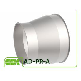 Переходник аспирационный круглого сечения AD-PR-A