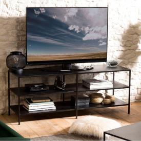 Тумба под телевизор GoodsMetall из металла в стиле Лофт 1400х550х450 Т106