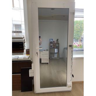 Двері вхідні металопластиков колір білий 900х2000 мм