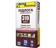 Наливна підлога ДОЛІВКА-319 (гіпсовий для машинного нанесення) Будмайстер 25кг