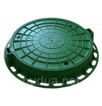 Люк пластиковый зеленый