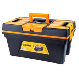 Ящик для інструменту зі знімною кришкою Sigma 460х246х246мм (7403701)