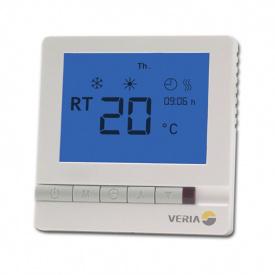 Терморегулятор Veria Control T45 цифровий програмований макс 13А 189B4060